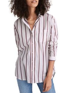 Madewell Odessa Stripe Oversize Ex-Boyfriend Shirt