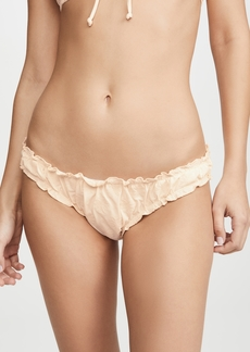 Madewell Second Wave Ruffled Bikini Bottoms