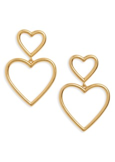 Madewell Open Hearted Statement Earrings