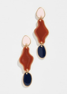 Madewell Organic Enamel Slide Earrings