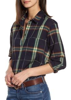 Madewell Oversize Ex-Boyfriend Plaid Shirt