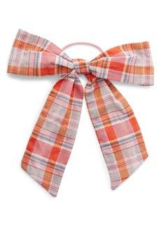 Madewell Oversize Velvet Bow Hair Tie