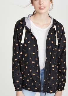 Madewell Packable Printed Rain Jacket
