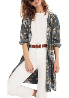 Madewell Painted Blooms Robe Jacket