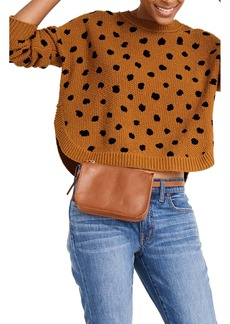 Madewell Painted Spots Pullover Sweater