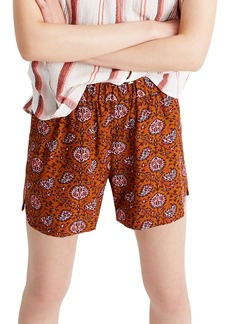 Madewell Paisley Pull-On Shorts