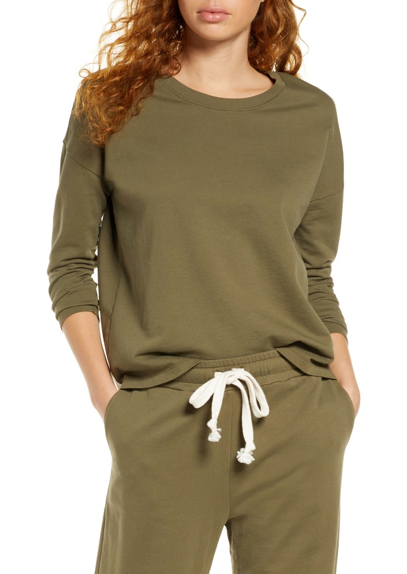 Madewell Pajama Sweatshirt