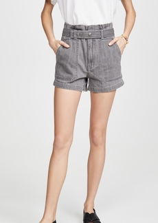 Madewell Paperbag Snap Belted Shorts
