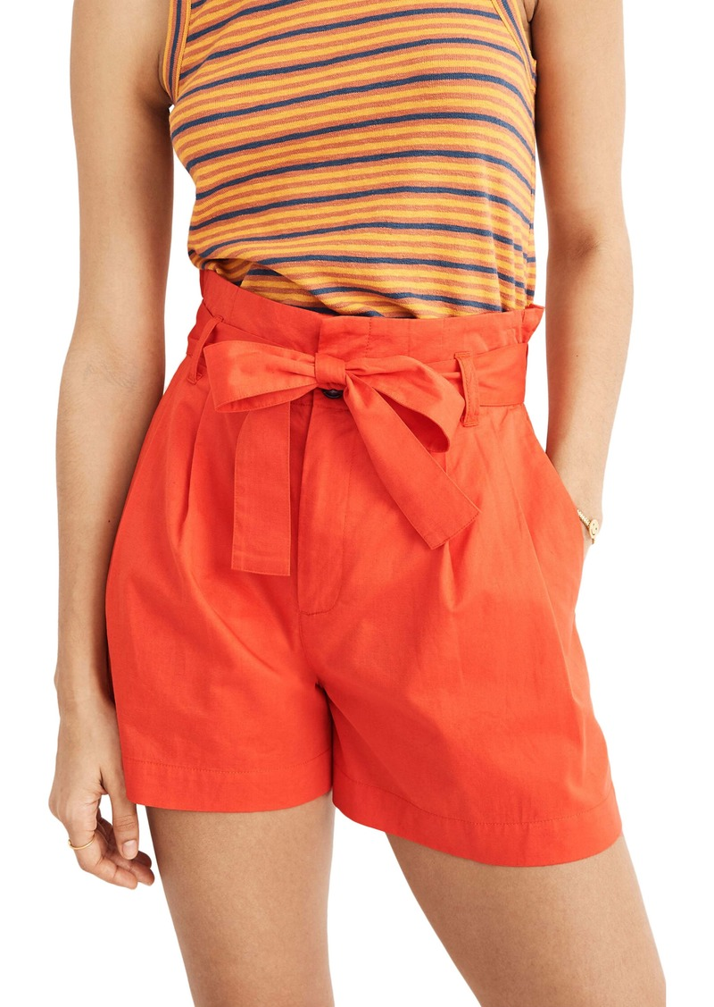 Madewell Paperbag Waist Shorts