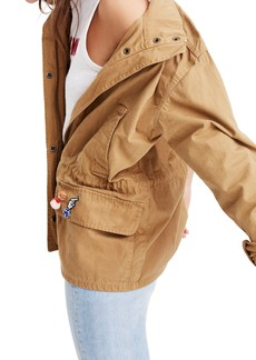Madewell Patch Military Jacket