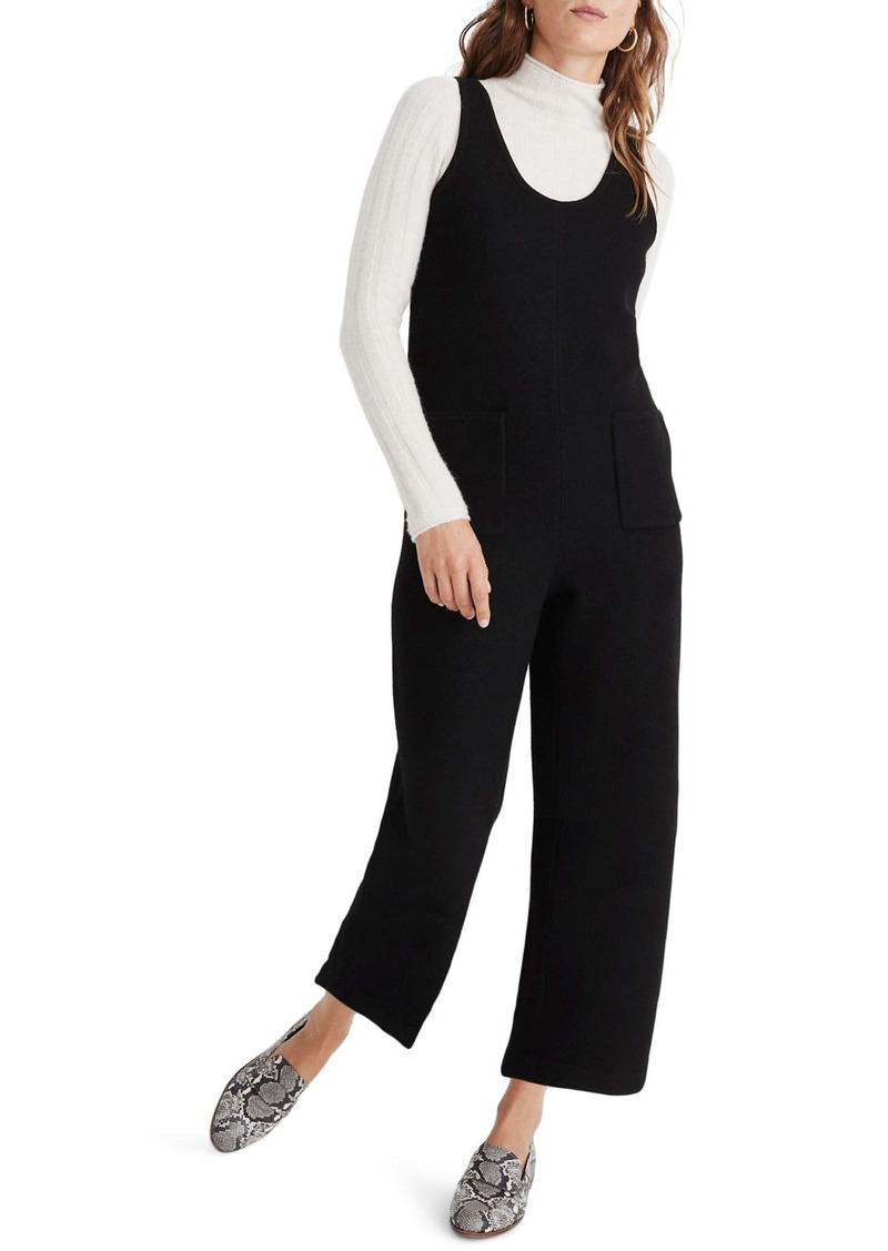 Madewell Patch Pocket Sweater Jumpsuit