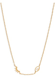 Madewell Pearl Winky Necklace