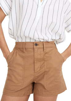 Madewell Perfect Military Twill Shorts
