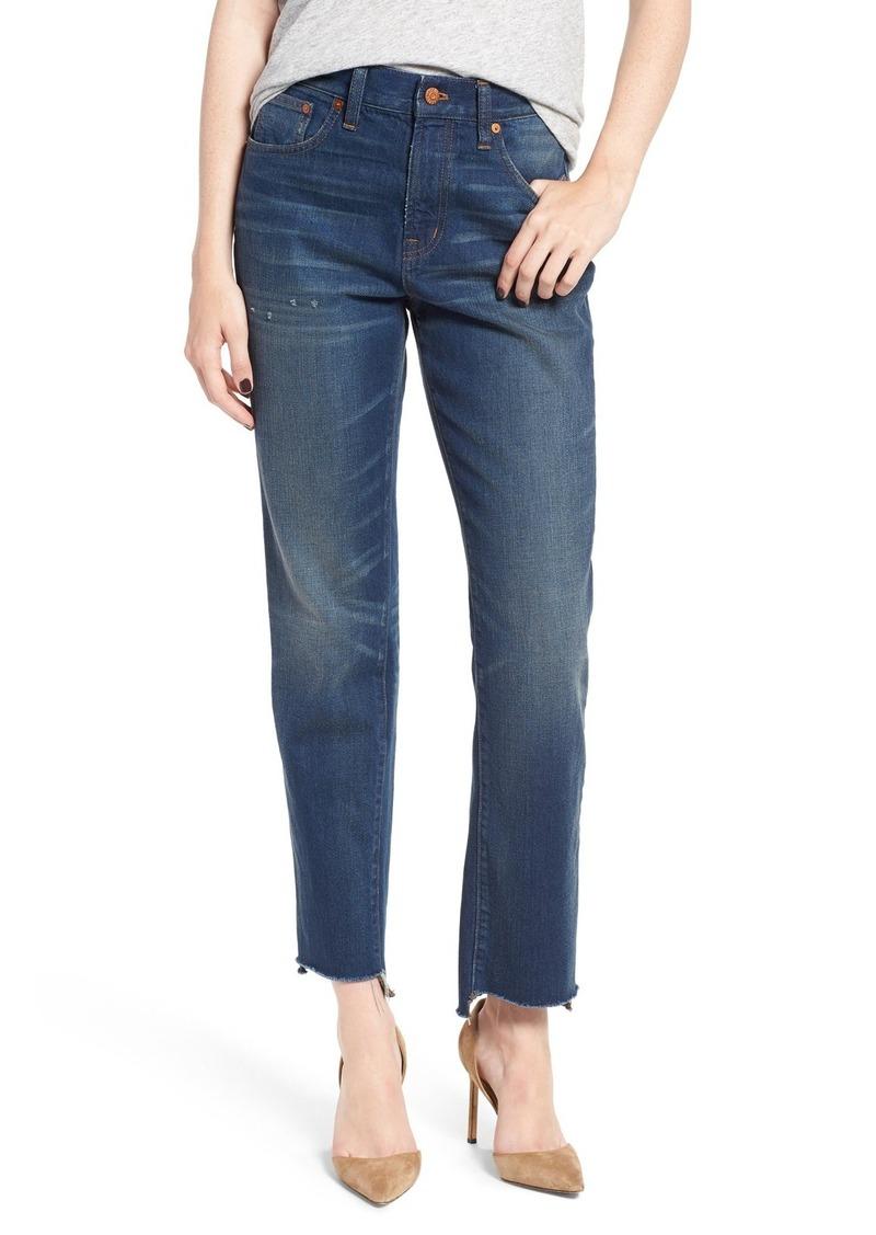 f5abe513ee Madewell Madewell Perfect Vintage Step Hem Jeans (Regina Wash)   Denim