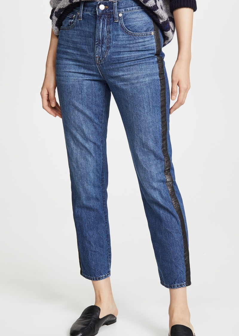 Madewell The Perfect Vintage Jeans Tux Stripe Edition