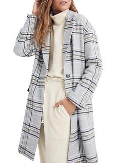 Madewell Plaid Bryant Coat