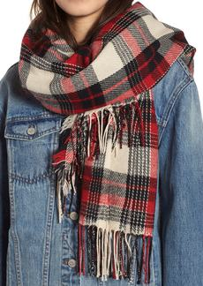 Madewell Plaid Scarf