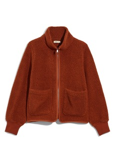 Madewell Polartec® Fleece Zip-Up Jacket