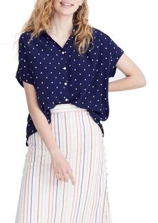 Madewell Polka Dot Central Shirt