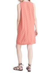 Madewell Polka Dot Heather Button Front Dress
