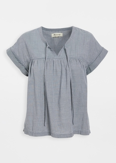Madewell Popover Flowy Top