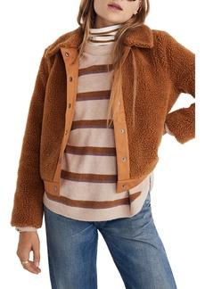 Madewell Portland Fleece Jacket