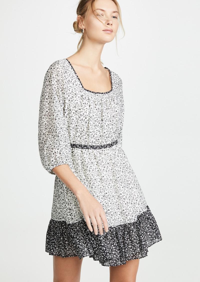 Madewell Print Mix Dress