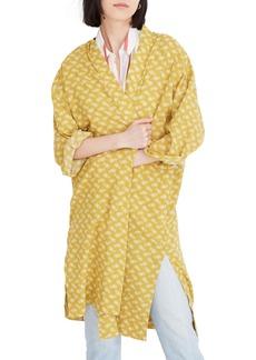 Madewell Print Robe Jacket