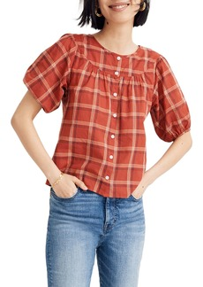 Madewell Prose Plaid Shirt