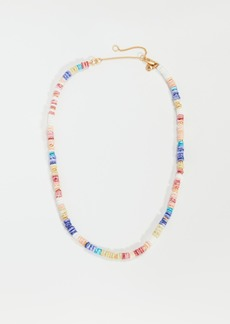 Madewell Puka Shell Beaded Necklace