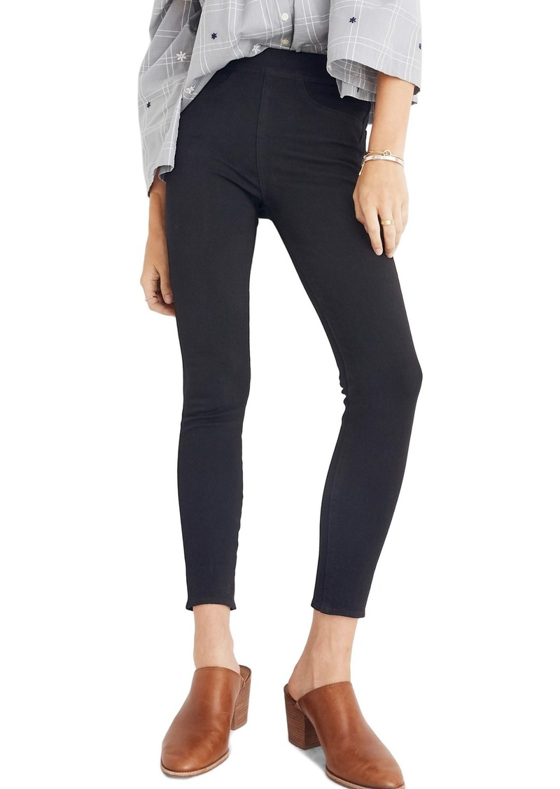 Madewell Pull-On Jeans (Black Frost)