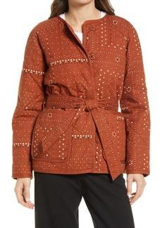 Madewell Quilted Bandana Jacket