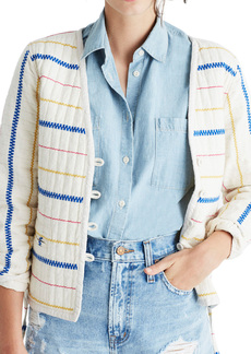 Madewell Quilted Side Tie Jacket
