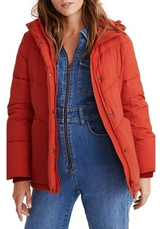 Madewell Quilted Water Resistant Puffer Parka