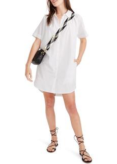 Madewell Raglan Sleeve Shirtdress