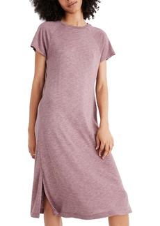 Madewell Raglan Tee Midi Dress