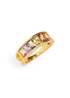 Madewell Rainbow Baguette Ring