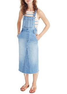 Madewell Reconstructed Overall Jumper Dress