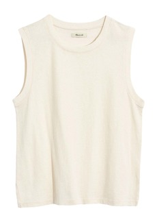 Madewell Recycled Cotton Crewneck Muscle Tank