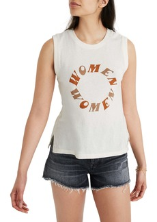 Madewell Recycled Cotton Crewneck Muscle Tee