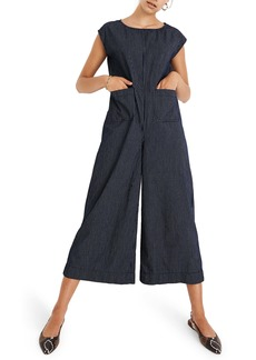 Madewell Relaxed Jumpsuit in Mini Windowpane