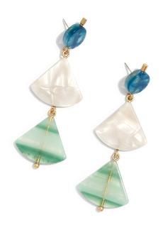 Madewell Resin Triangle Drop Earrings