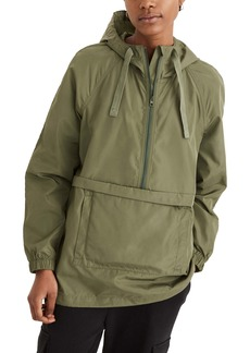 Madewell (Re)sourced Raincheck Packable Popover Raincoat