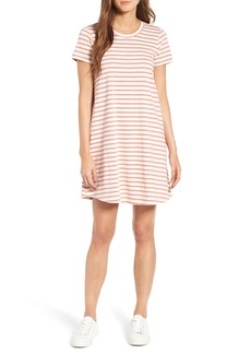Madewell Retreat Stripe Cotton Shift Dress