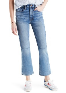 Madewell Retro Crop Bootcut Jeans: Two-Tone Edition (Jenkins)