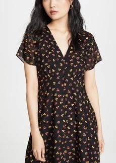 Madewell Retro Silk Dress