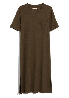 Madewell Rib Pocket T-Shirt Dress