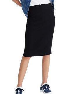 Madewell Ribbed Pencil Skirt