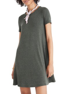 Madewell Ribbed Swingy T-Shirt Dress