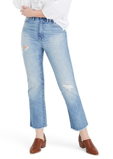 Madewell Rigid Crop Demi Boot Jeans (Rowes)